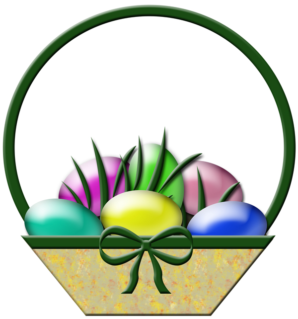 clip art for easter baskets - photo #23