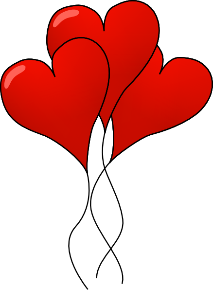 cartoon love heart balloon . Free cliparts that you can download ...