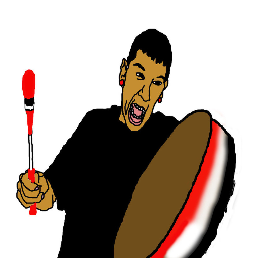 A big toy drum stock vector. Illustration of drummer ...  Cartoons About Drummers