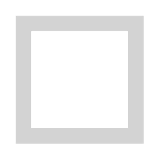White Square Outline Black Square Ou...
