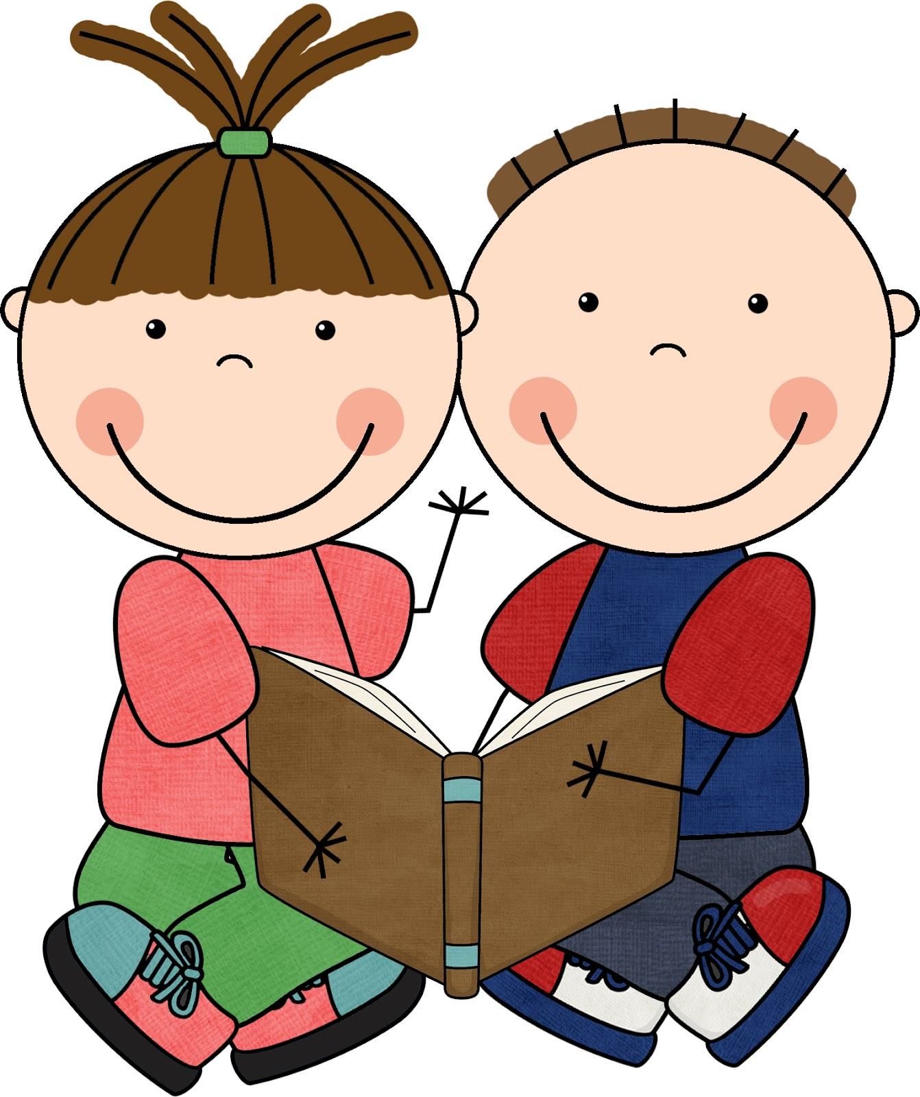 clip art children reading books   clipart best