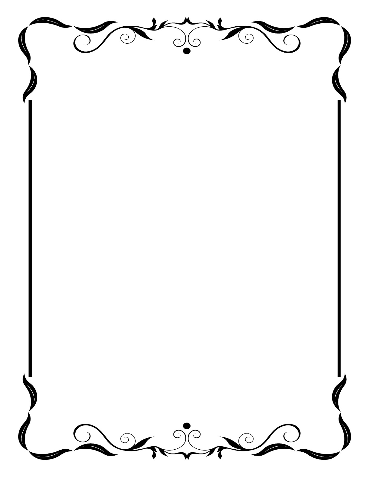 Line Art Frames : Line borders and frames clipart best