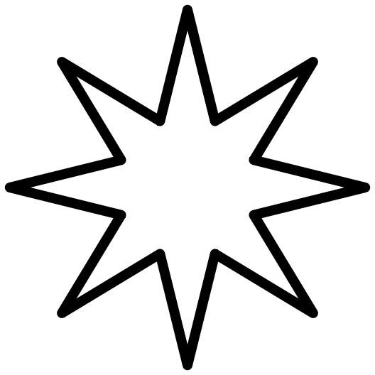 outline star clipart best. Black Bedroom Furniture Sets. Home Design Ideas