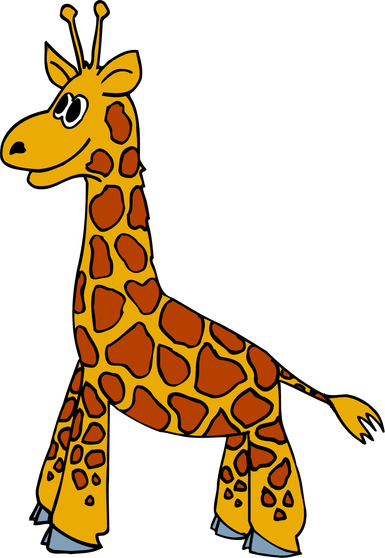 Free Giraffe Clipart Pictures
