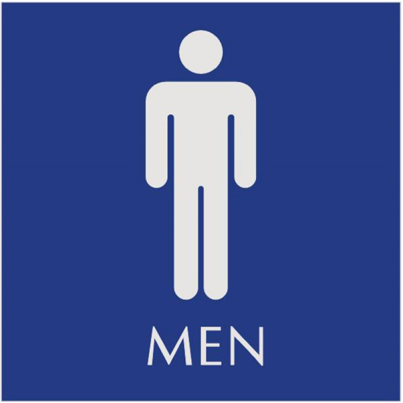 Pics Photos Printable Mens Restroom Sign