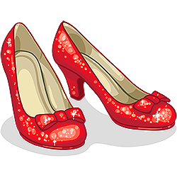 Ruby Slippers Clip Art Clipart Best