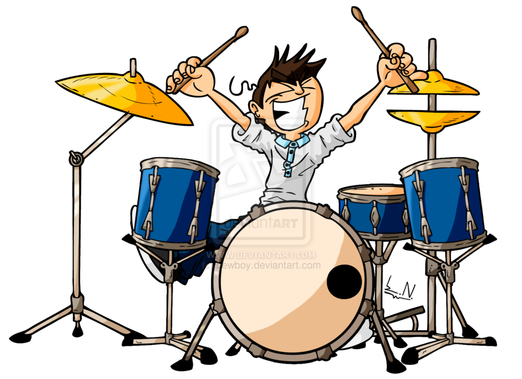 Drum Cartoon Pictures