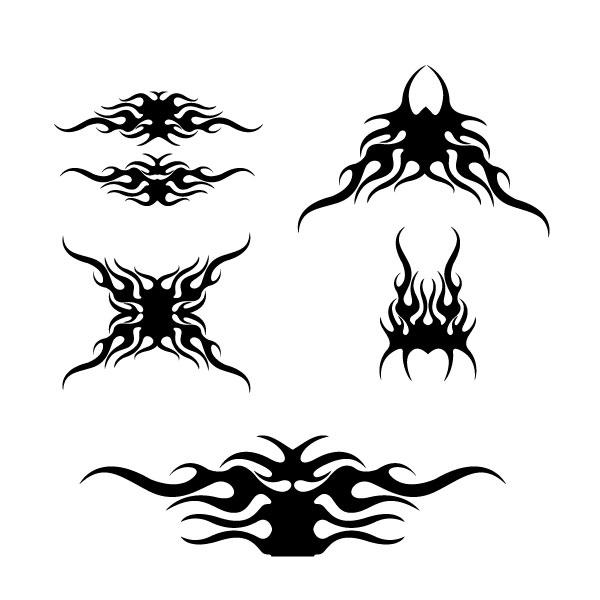 free printable tribal stencils