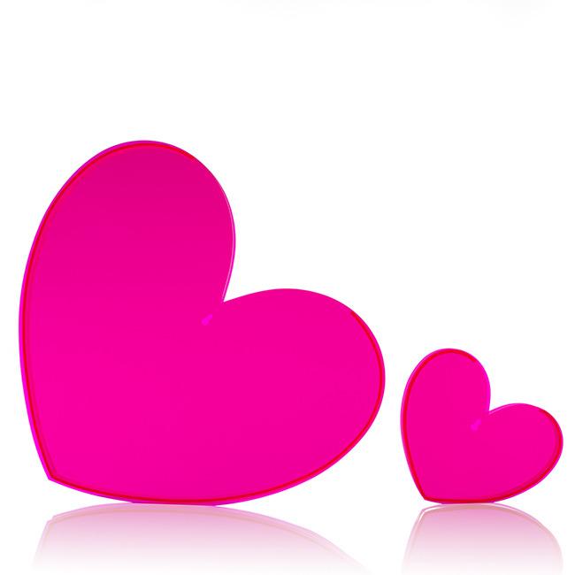 Neon Hearts Pictures Neon Pink Heart Vase