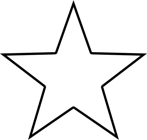 Christmas Star Outline...